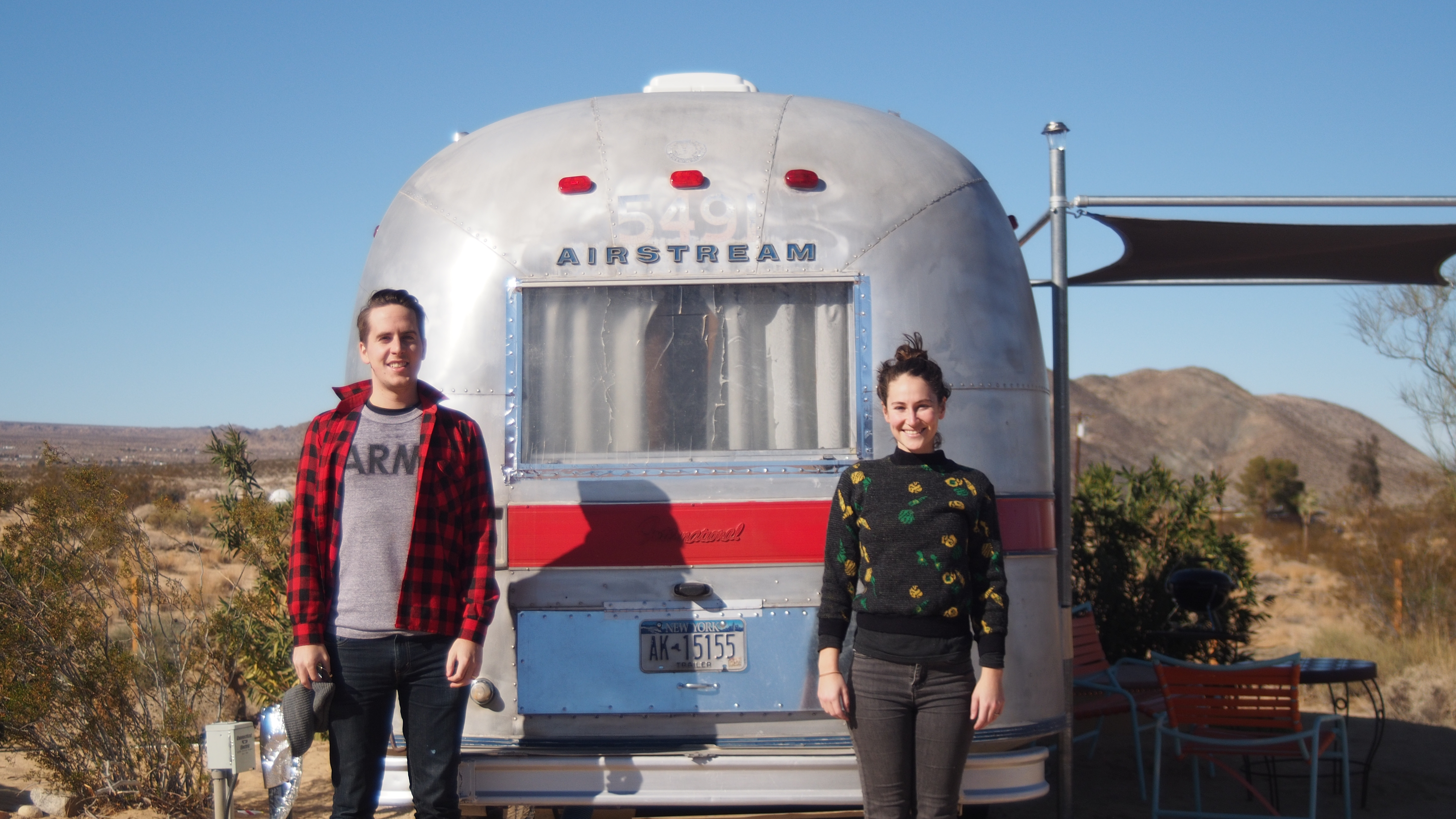 Our last great adventure - camping in an RV in the Joshua Tree desert. We are committed to doing more of this!